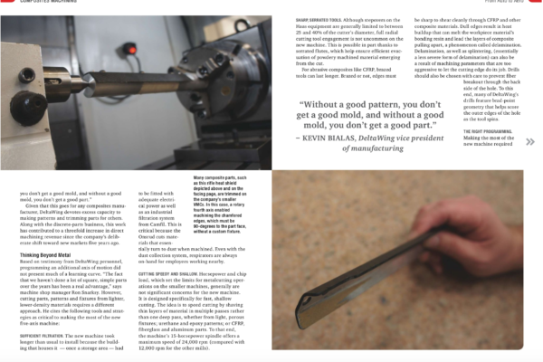 Modern Machine Shop, September 2019 - Pg 84-85